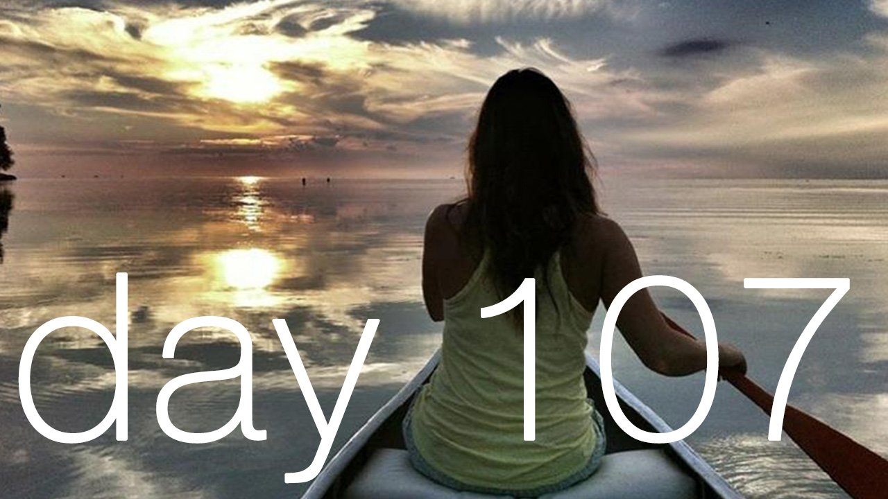 Day 107 - Leaving Motivation And Moving Back Into Meaning