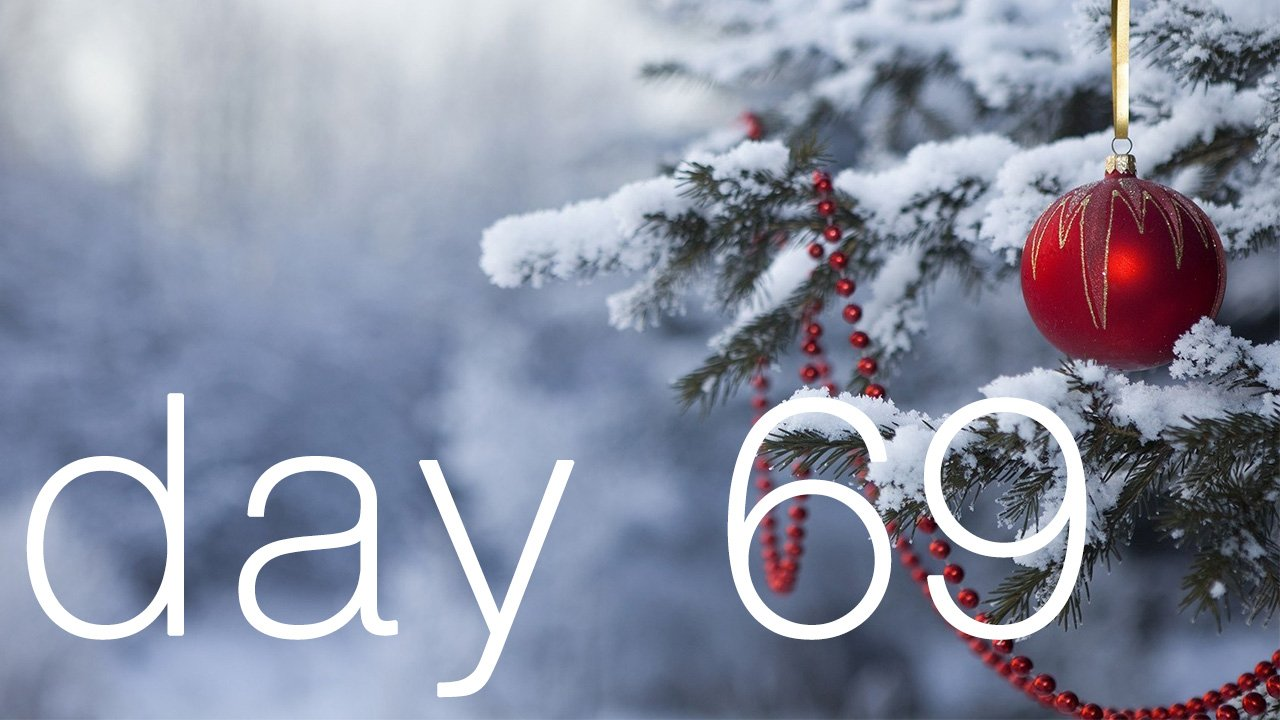Day 69 - Merry Christmas!