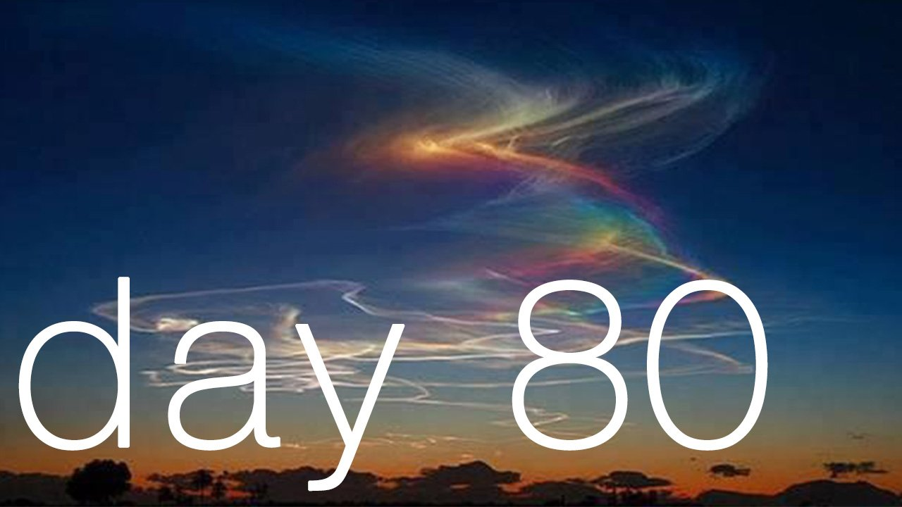 Day 80 - How To Skyrocket