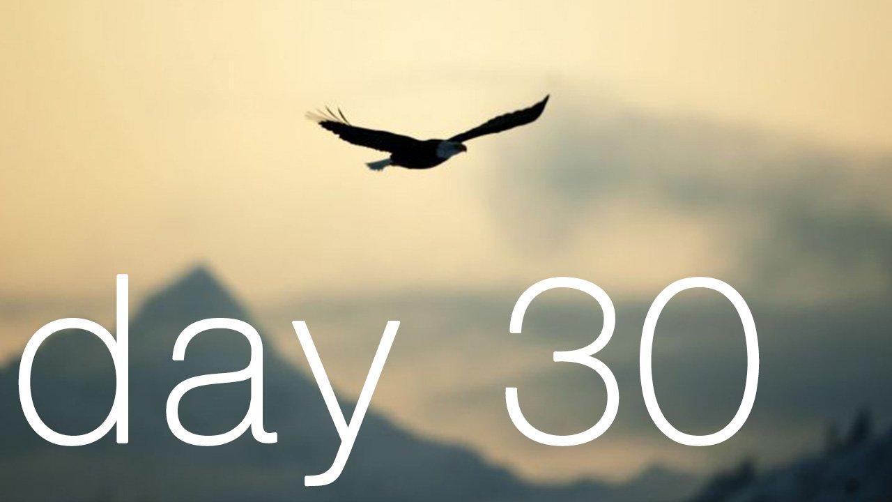 Day 30 - Releasing Trauma